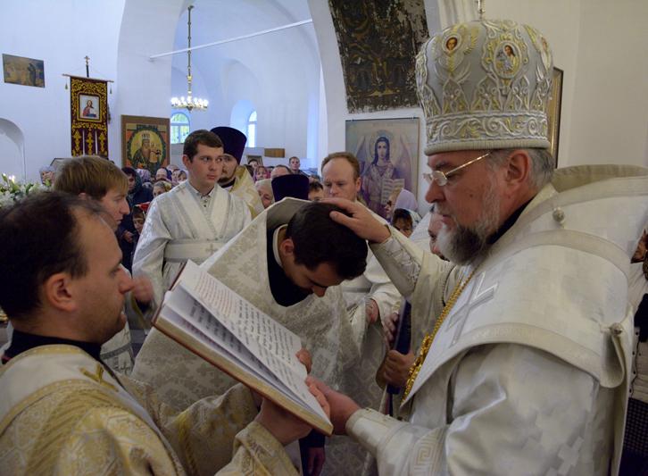 Архиерейское богослужение. Чин великого освящения Покровского храма в городе Трубчевске