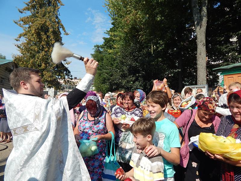 Праздник Преображения Господня в Свято-Никольском храме г. Клинцы
