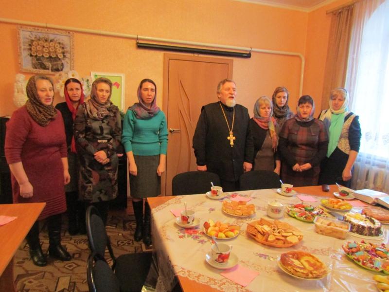 Мглинское благочиние. Встреча женского православного клуба «Сестры» на Сырной седмице