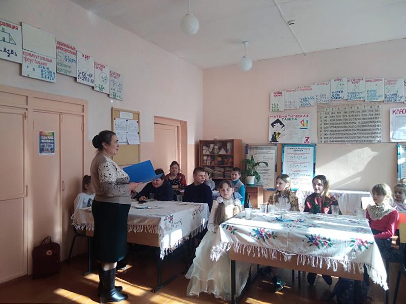 Мероприятие, посвященное Сырной седмице и предстоящему Великому посту, прошло в Новоромановской школе